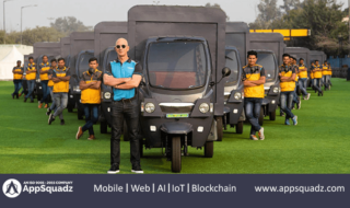 Amazon India Rolling Out its Electric Delivery Rickshaws